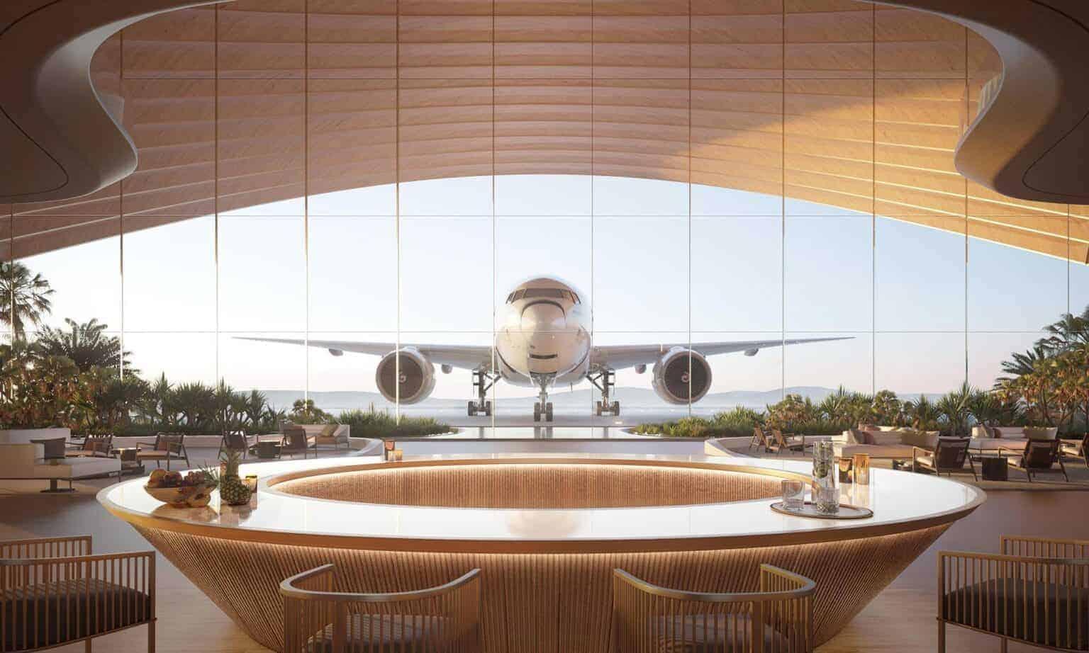aeropuerto en el Mar Rojo