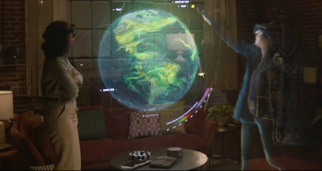 Las Videollamadas Se Quedan En El 2020, Ahora Microsoft Diseñó Un Holograma Para Tener Reuniones &Quot;Presenciales&Quot;