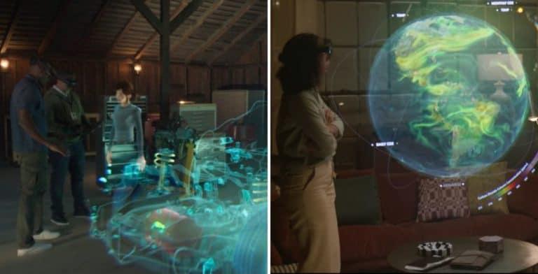 """Las videollamadas se quedan en el 2020, ahora Microsoft diseñó un holograma para tener reuniones """"presenciales"""""""