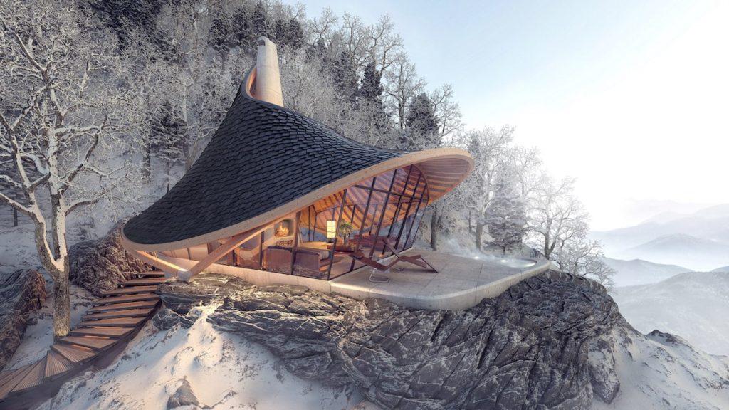 Imagen Isla De Hokkaido Yezo Retreat Architecture Design Ltd Lead Hokkaido Japan 1