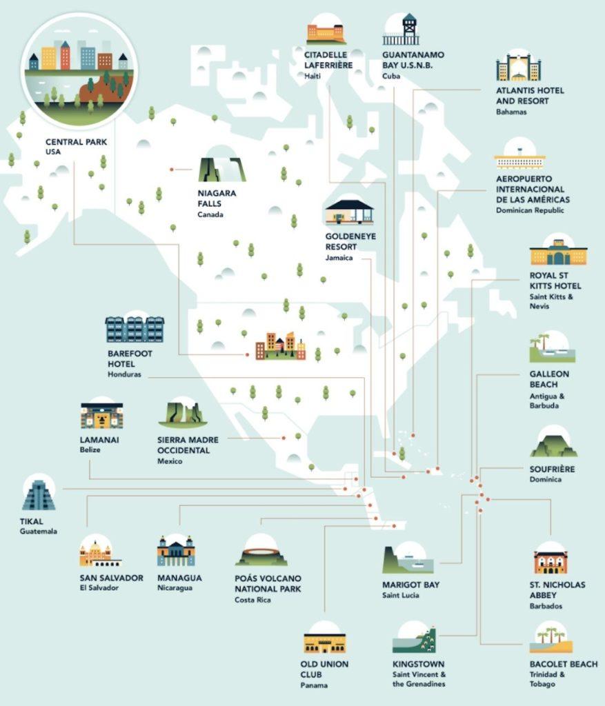 Imagen Lugares De Filmación Most Filmed Locations In Every Country North America