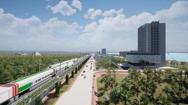 Avanzan las obras del Tren Maya: acuerdan que el tramo Cancún-Playa del Carmen será elevado