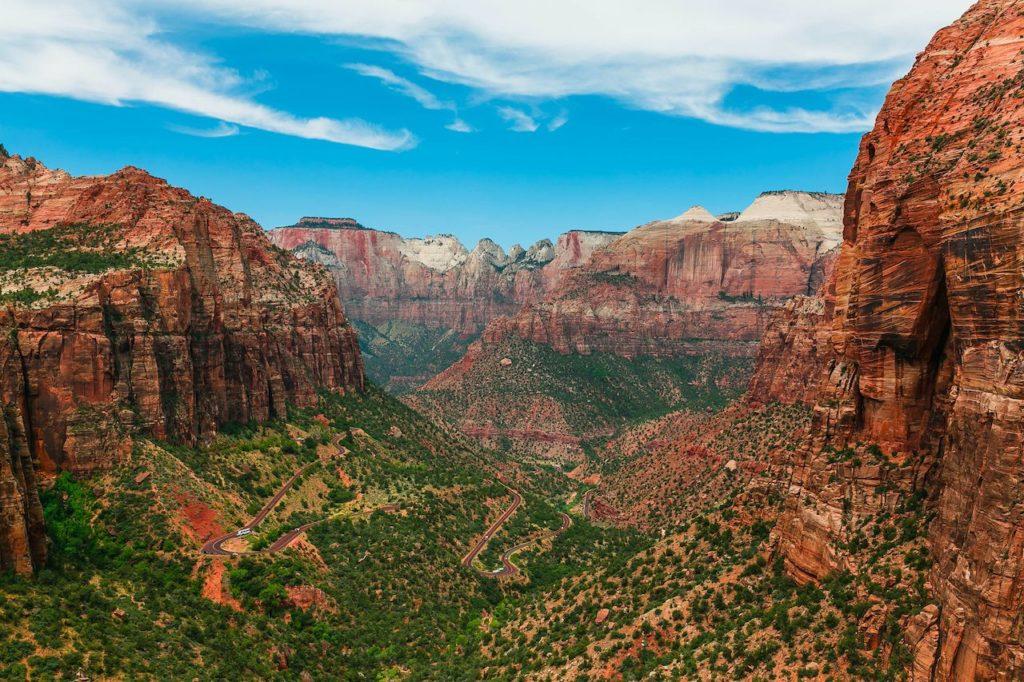 parques nacionales más visitados de Estados Unidos Zion National Park