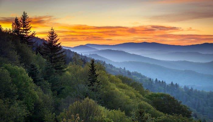 ¿Cuáles son los 10 parques nacionales más visitados de Estados Unidos?