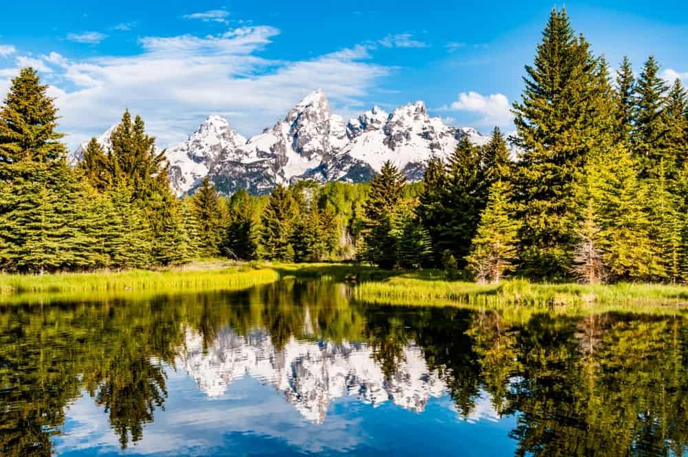 parques nacionales más visitados de Estados Unidos parque nacional grand teton
