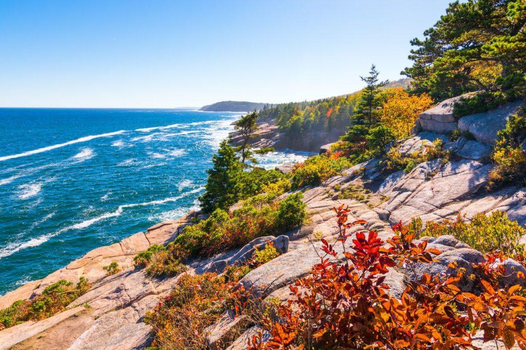 parques nacionales más visitados de Estados Unidos Acadia National Park most visited national parks in 2020