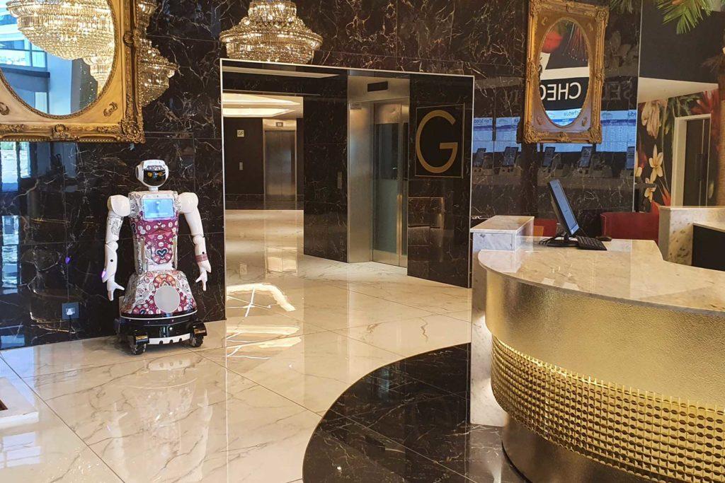 Atendido Por Robots