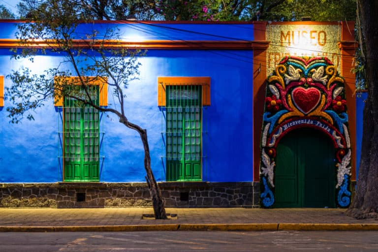Ya se puede visitar nuevamente Casa Azul, el museo de Frida Kahlo, en México