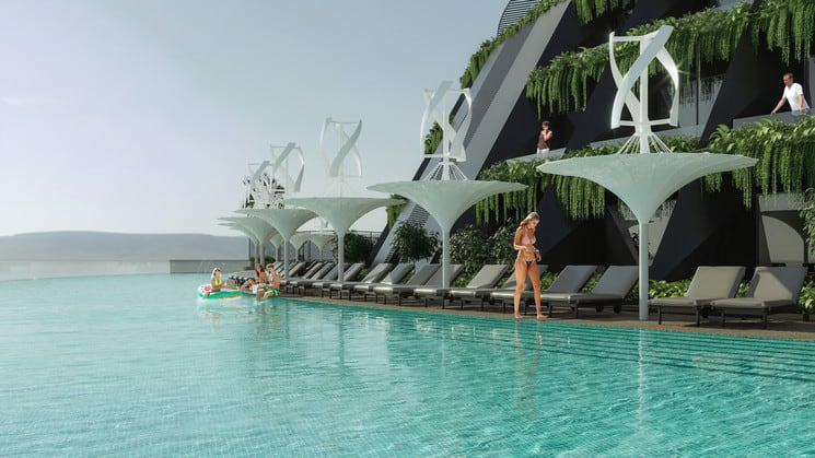 Eco-Floating Hotel eco floating hotel 3