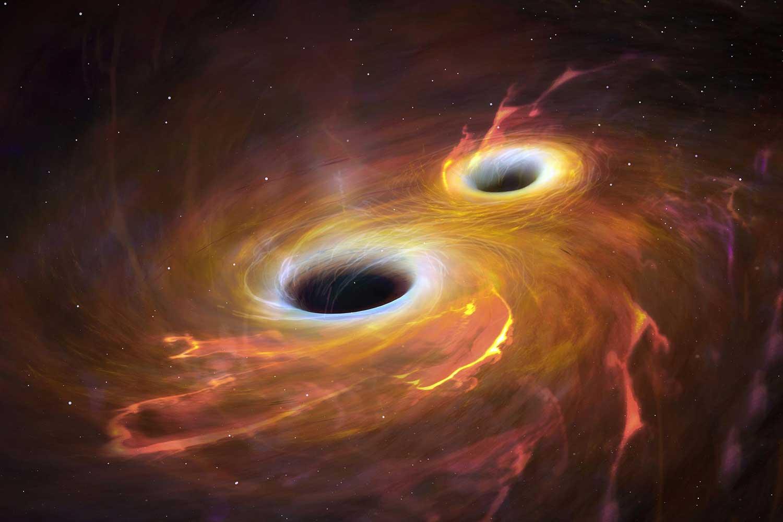 Un grupo de astrónomos encontró un agujero negro supermasivo 'vagando' por el espacio