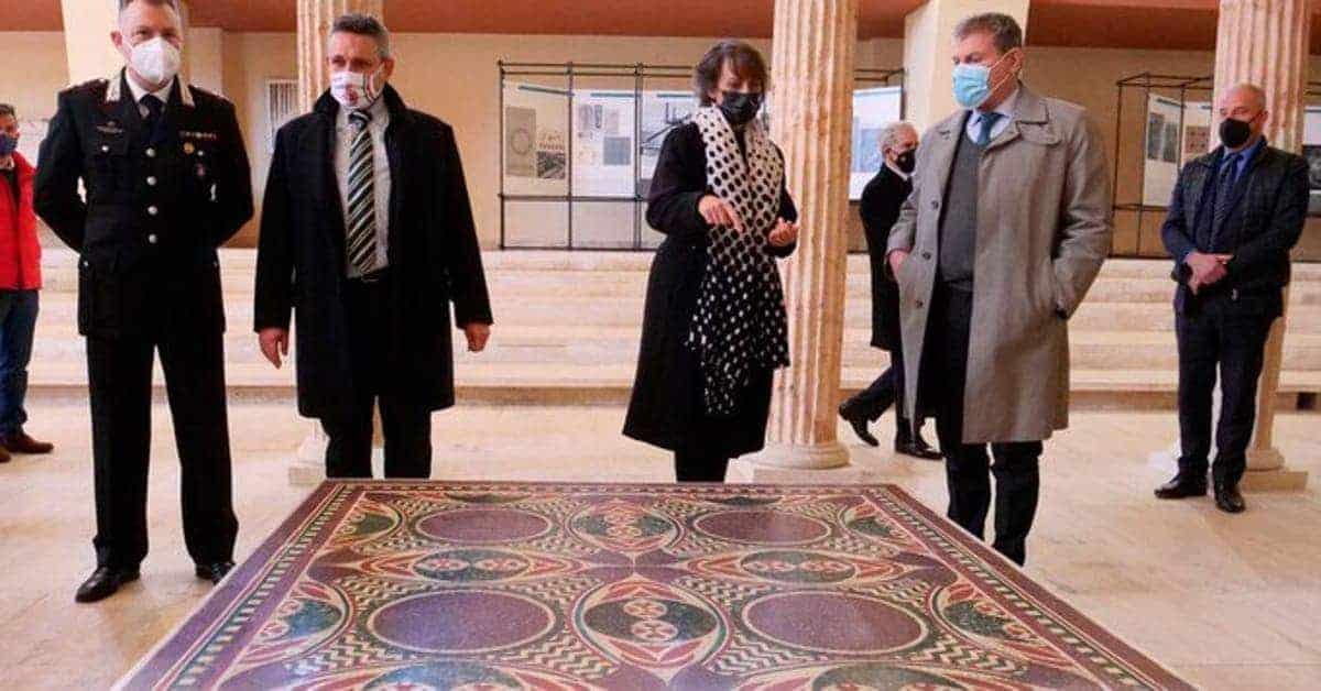 mosaico perdido