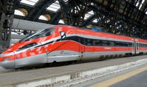 Italia presentó los trenes 'libres de COVID-' para el recorrido de Roma a Milán y comenzarán a funcionar a partir de Abril