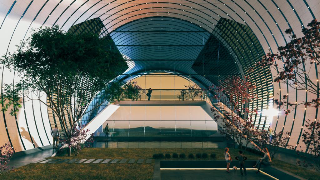Un Estudio De Arquitectura Presentó Sus Planes Para Construir Una Ciudad En Marte