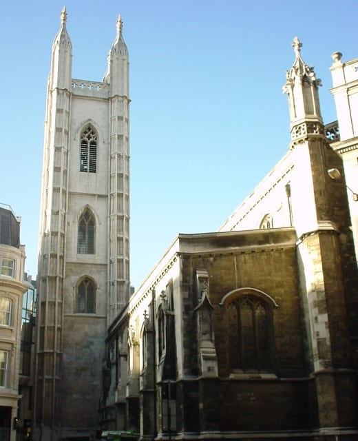 Cómo llegar a Host Café St Mary Aldermary Church