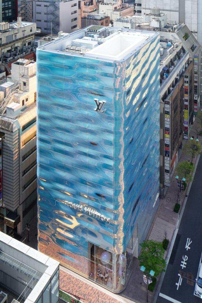 tienda de Louis Vuitton en Tokio