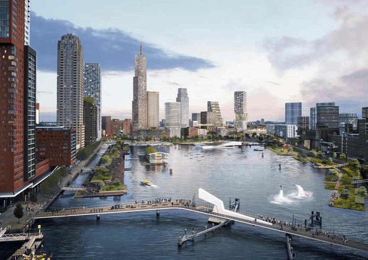 Rotterdam estrenará Hofbogenpark, un parque elevado al mejor estilo 'High Line' para disfrutar del aire libre