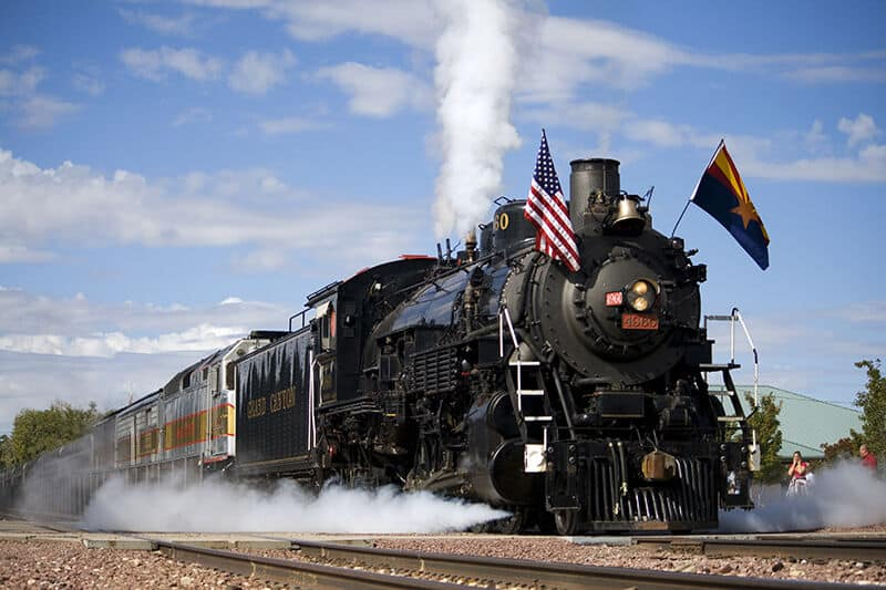 imagen tren del Gran Cañón The Iron Horse 1