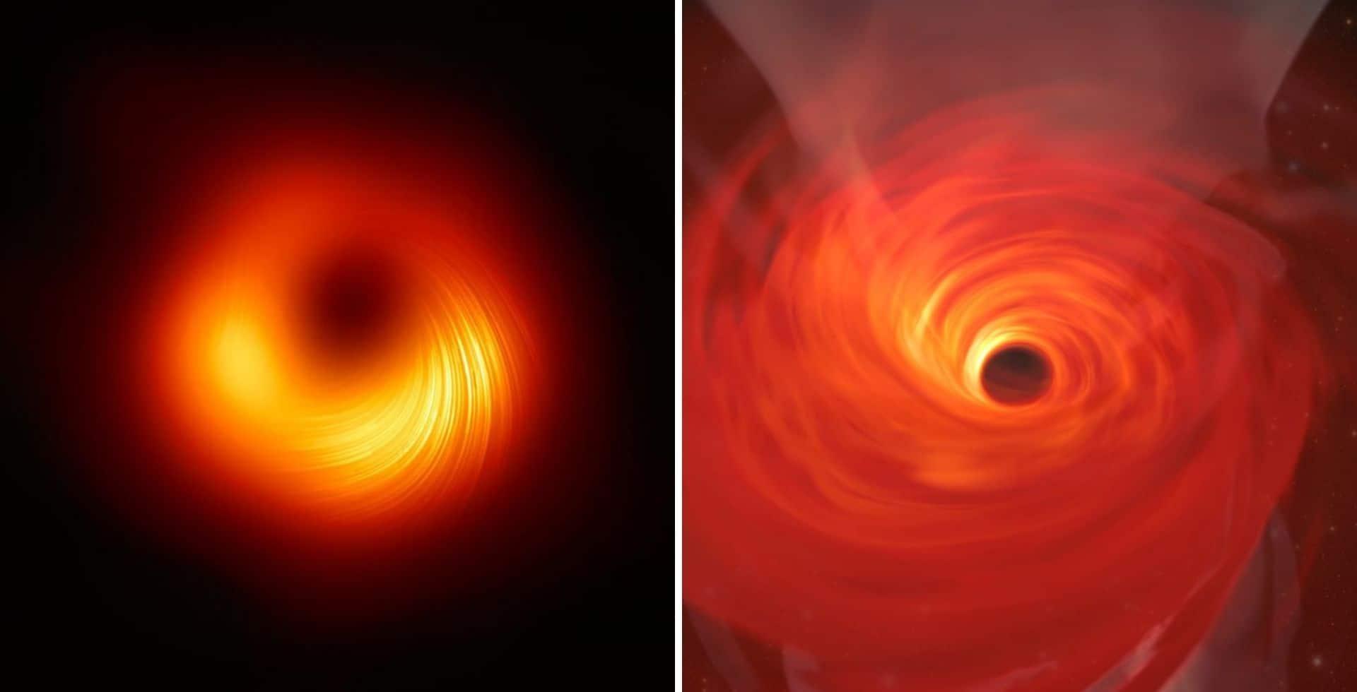 Científicos compartieron una nueva fotografía del primer agujero negro en ser fotografiado