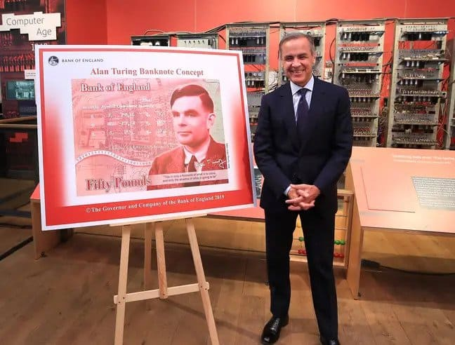 El nuevo billete de 50 libras tendrá la imagen de Alan Turing y estará en circulación a partir de Junio
