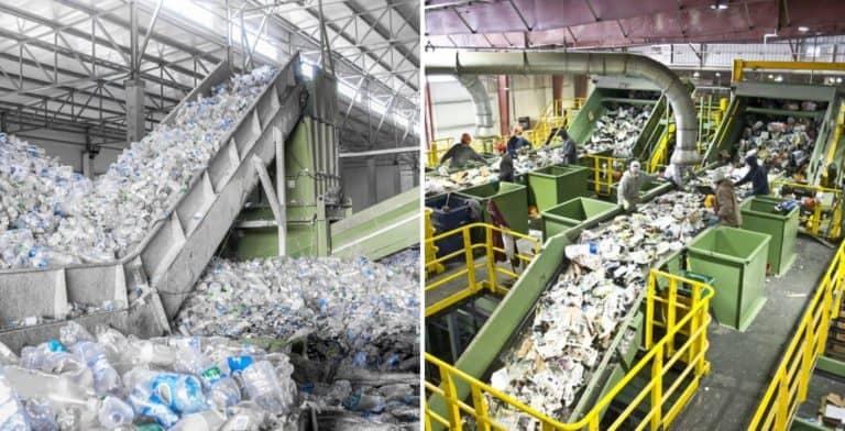 Una planta de reciclaje sostiene que tiene la capacidad de reciclar plásticos de todo tipo
