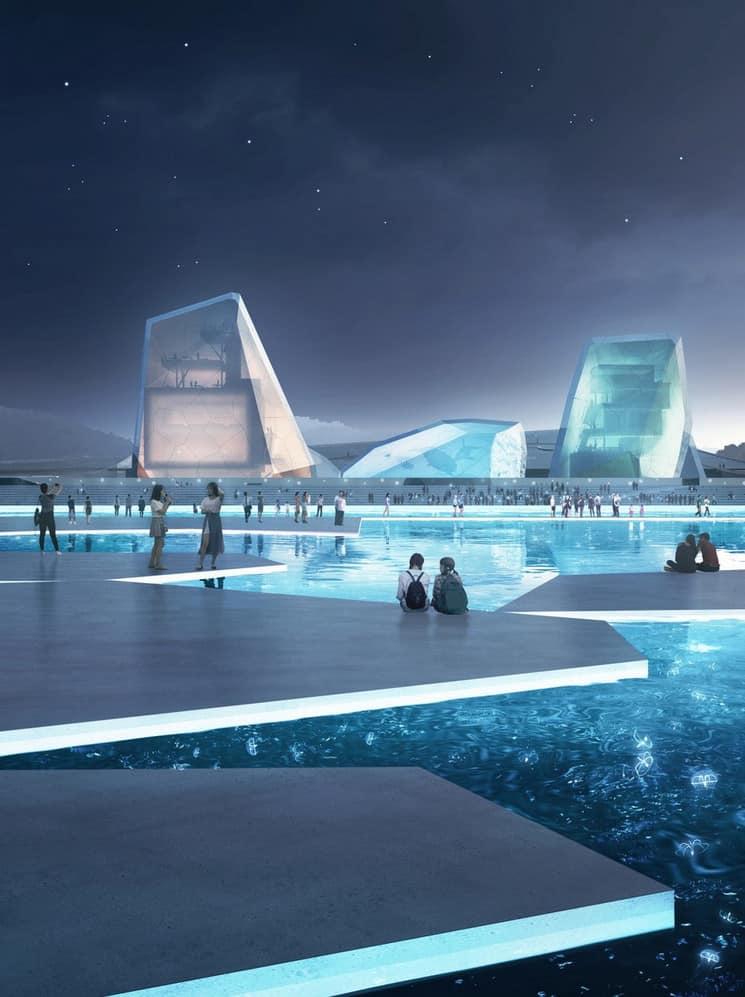 Imagen The Icebergs And The Sea The Icebergs And The Sea Nuevo Museo Maritimo Shenzhen 3
