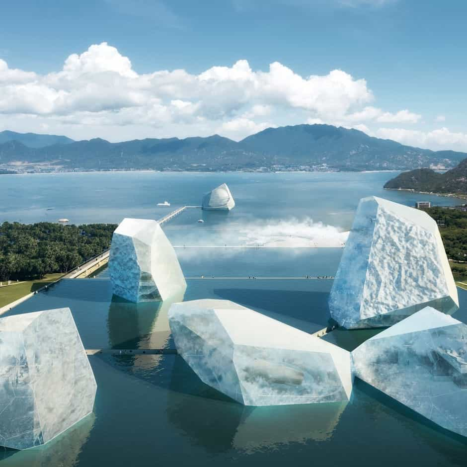 Imagen The Icebergs And The Sea The Icebergs And The Sea Nuevo Museo Maritimo Shenzhen 1
