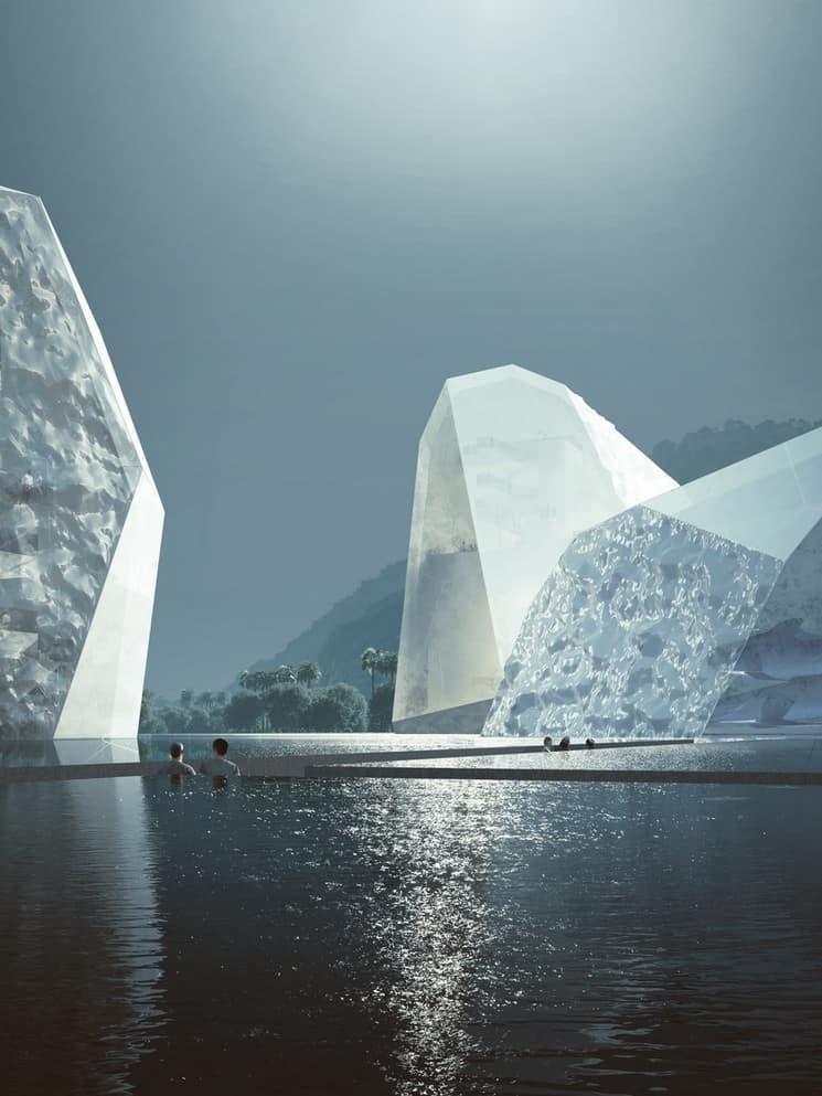 The Icebergs And The Sea: Así Será El Diseño Del Nuevo Museo Marítimo Que Acogerá La Ciudad China De Shenzhen