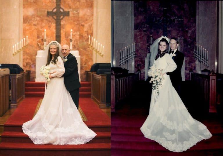 álbum de bodas 50 años