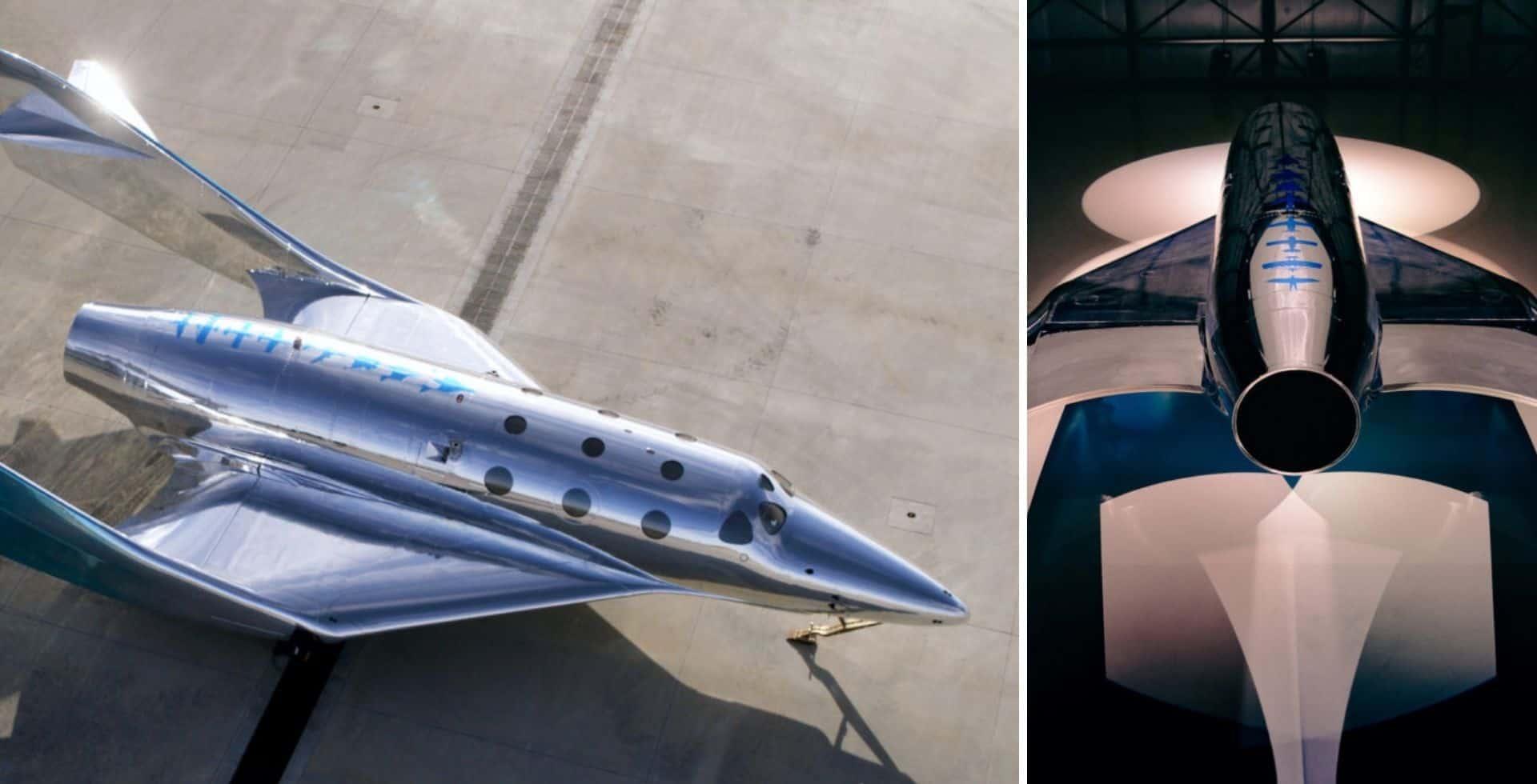 Virgin Galactic presentó el primer modelo de la nueva generación de naves espaciales