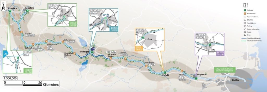 Imagen Nueva Ruta Ciclista En Irlanda Map Of Irish Cycling Trail