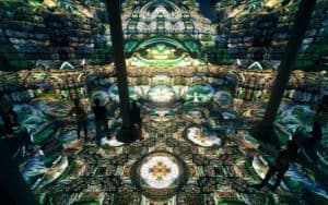 Esta nueva muestra de arte digital conecta el arte, la ciencia y la tecnología a través de la geometría