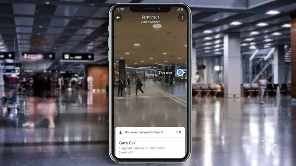 google-maps-inside-airport-knowtechie