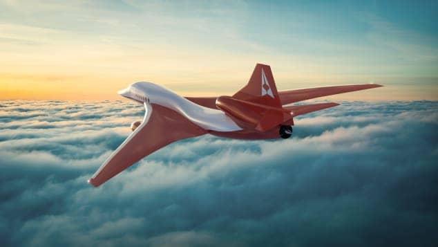 Un avión supersónico de Aerion permitiría viajar de Los Ángeles a Tokio en menos de 3 horas