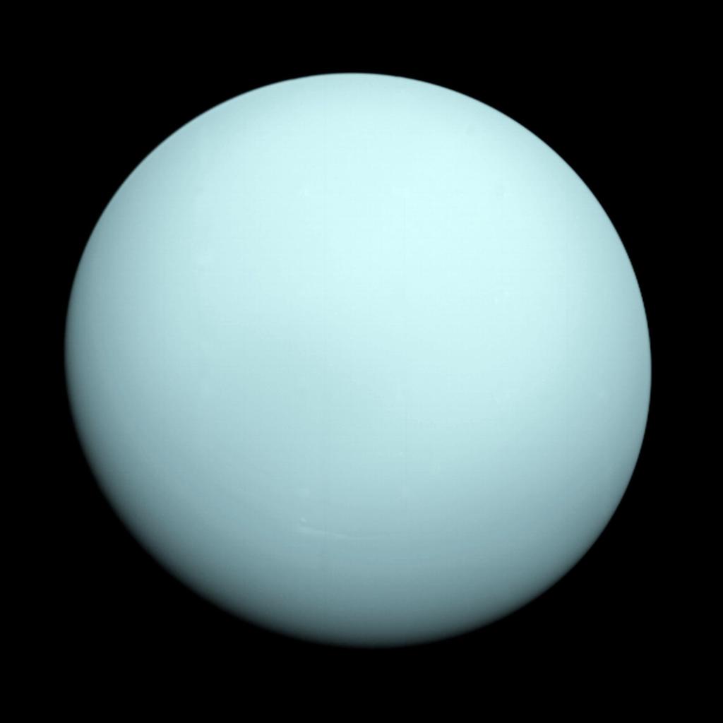Científicos Observaron Actividad Radioactiva En Urano A Partir De Imágenes Que Tomó La Nasa