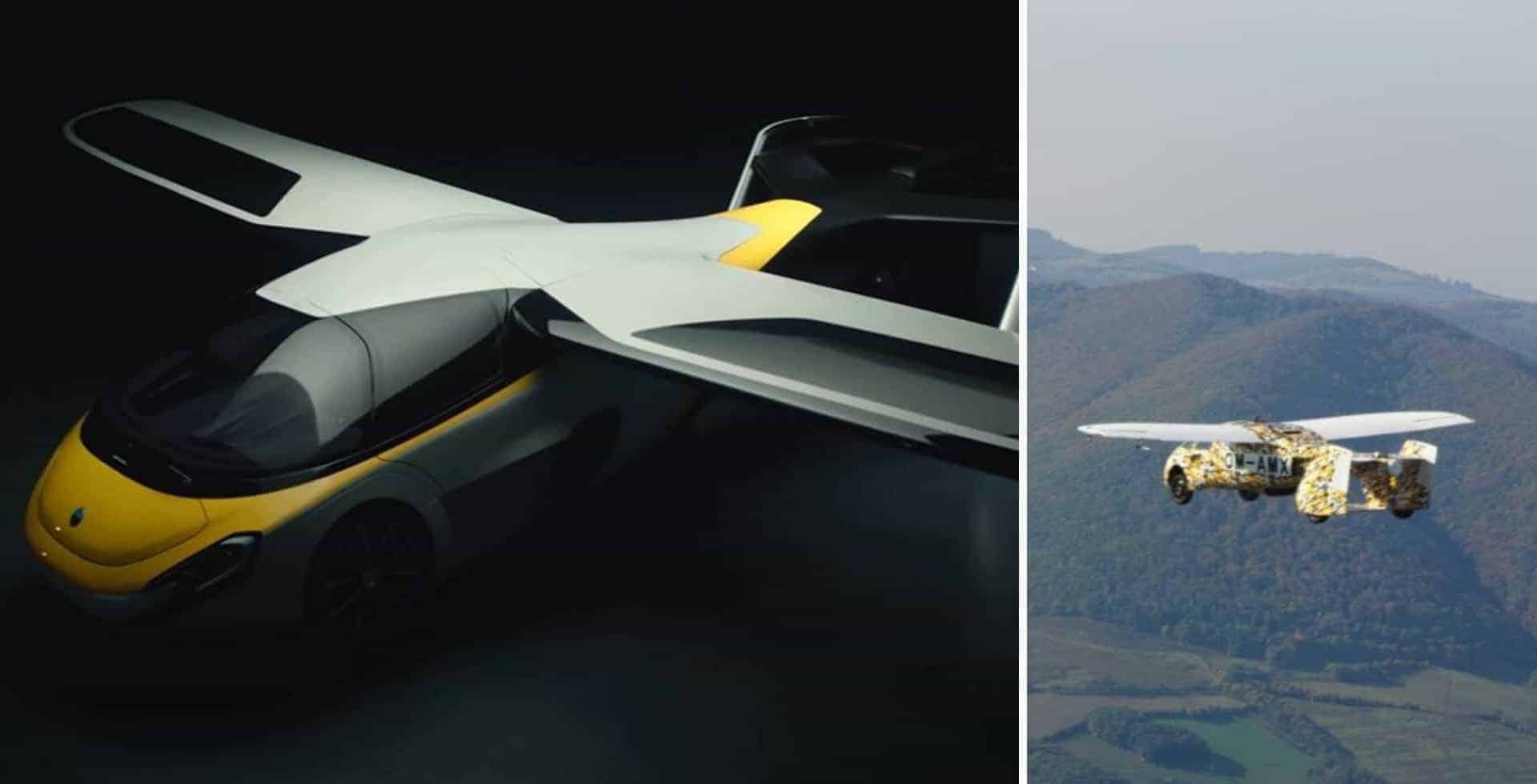 El auto volador de AeroMobil estaría a la venta para el año 2023