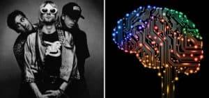 Una organización de Canadá utilizó inteligencia artificial para crear una nueva canción de Nirvana y generar conciencia sobre salud mental
