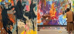 Una pareja arruinó, accidentalmente, una exhibición de arte moderno de unos 500.000 dólares