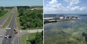 Cientos de residentes de Florida, Estados Unidos, debieron ser evacuados por el derrame de aguas residuales