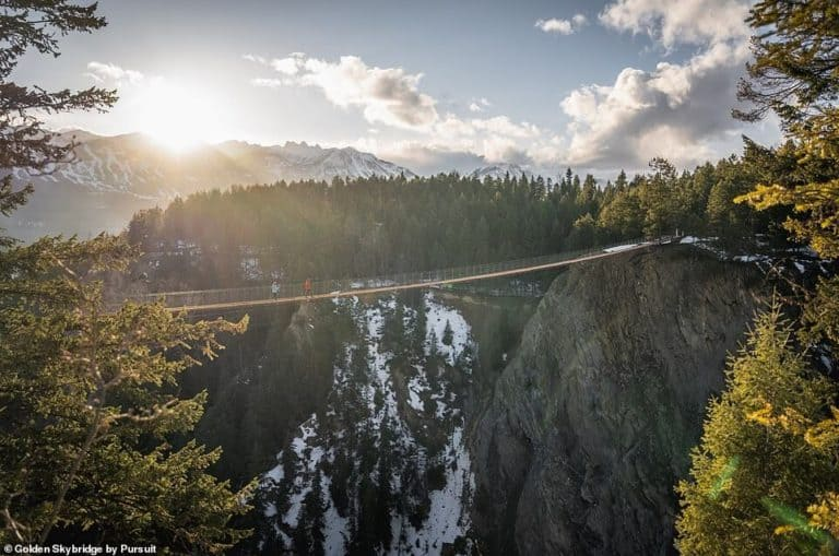 puente colgante más alto