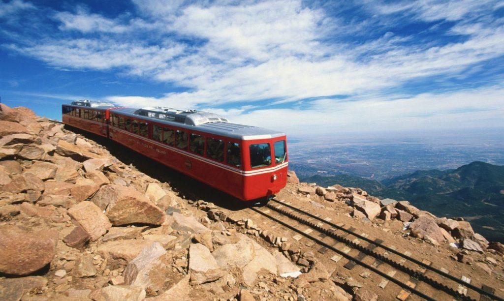 Imagen Ferrocarril De Montaña Más Alto De Estados Unidos Pikes Peak Cog Railway 1 1