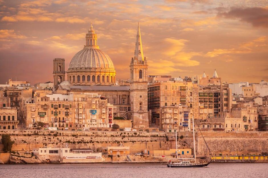 Malta reabrirá sus fronteras al turismo internacional a partir del próximo 1 de junio de 2021