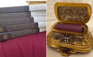 Busqueda del tesoro en Francia e Inglaterra lleva a los participantes a una obra maestra de oro de 900.000 dolares