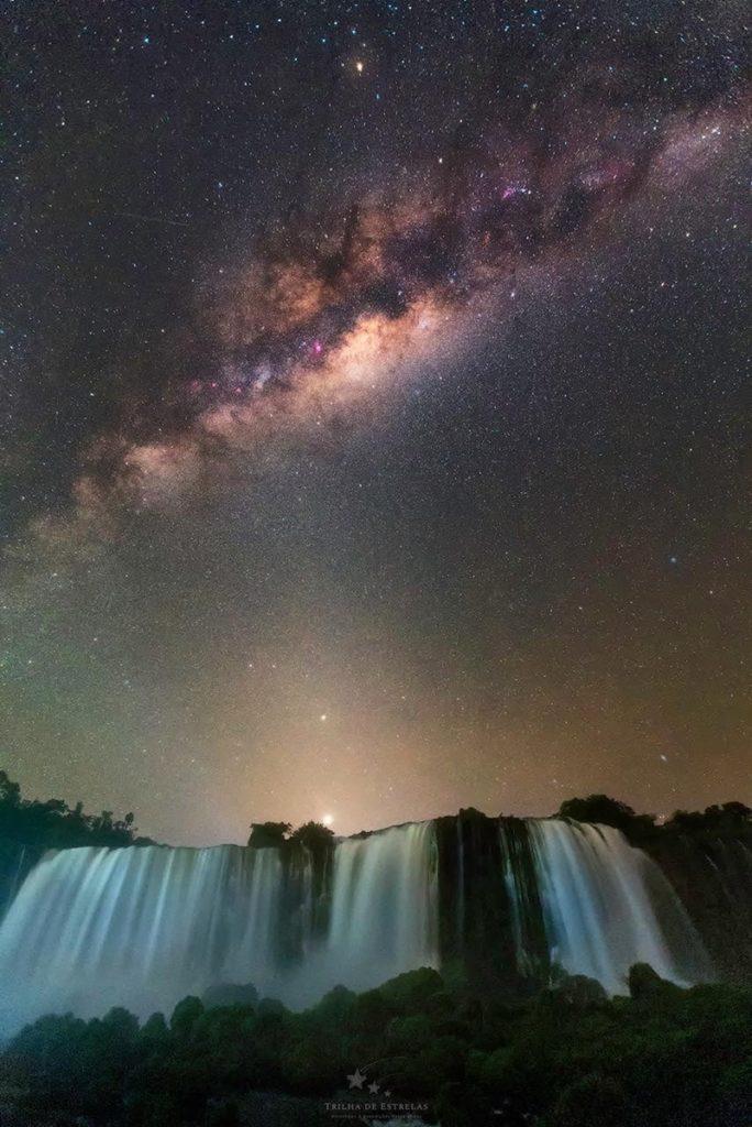 Astrofotografía En Las Cataratas Del Iguazú