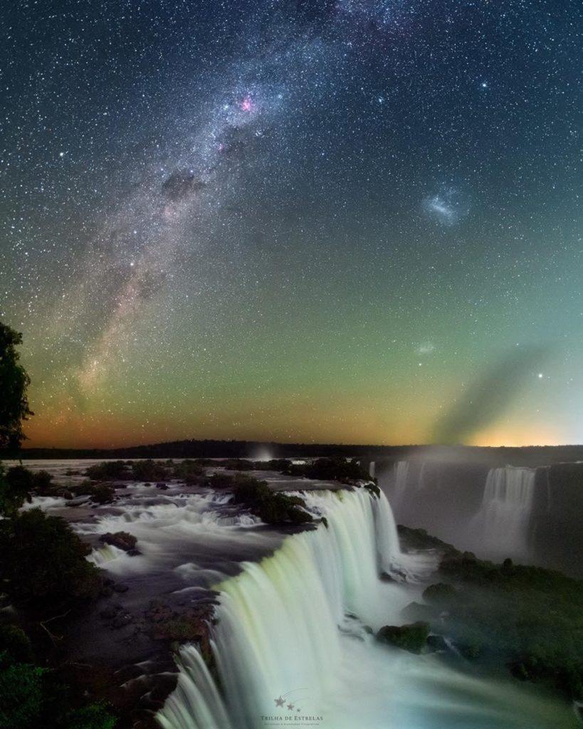 Astrofotografía En Las Cataratas Del Iguazú: Una Experiencia Única Que Dejó Increíbles Imágenes De Una De Las Siete Maravillas Del Mundo