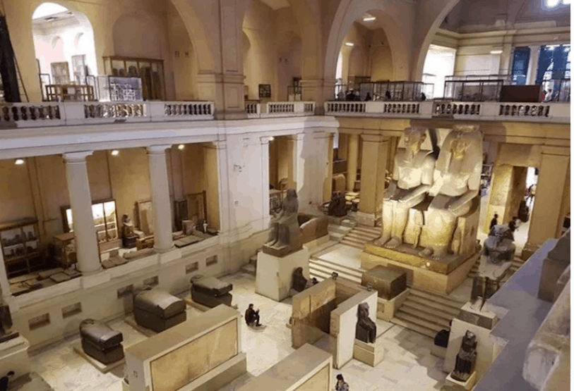 imagen faraones de Egipto Museo Nacional de la Civilizacion Egipcia NMEC