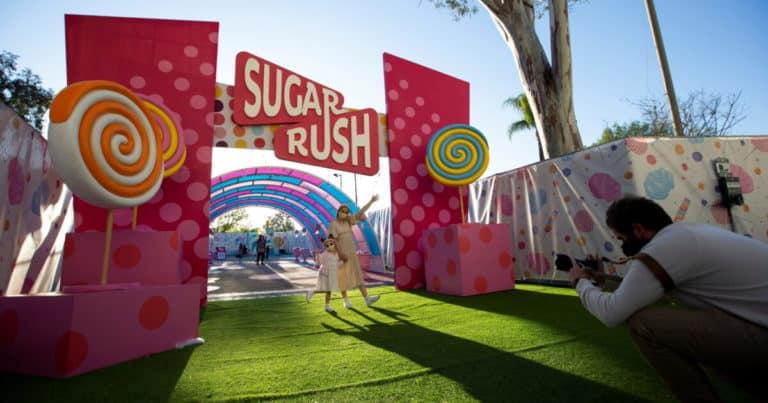 Sugar rush: el parque temático de California dedicado única y exclusivamente a los dulces