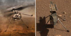 NASA debió posponer el primer vuelo del helicóptero Ingenuity en Marte