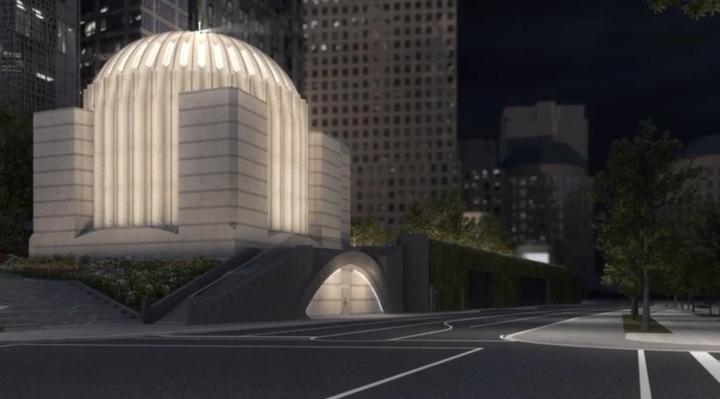 imagen iglesia ortodoxa frente al World Trade Center iglesia catedral san nicolas world trade center 1