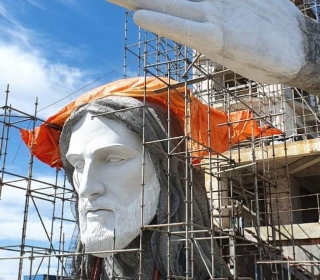 Brasil Construye 'El Protector', Una Nueva Estatua De Cristo Que Será Más Alta Que El Redentor Y Estará Situada En La Ciudad De Encantado