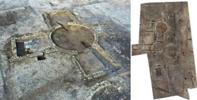 Encuentran restos de una villa romana de